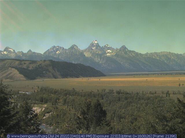 Grand Tetons Kelly Wyoming Webcam - Kelly, WY